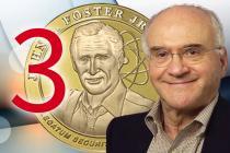 Third recipient of the John S. Foster Jr. Medal