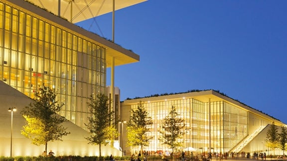 Stavros Niarchos Center in Athens, Greece