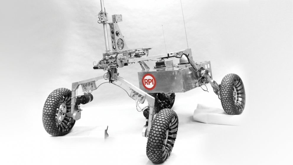 Mars Rover Designed by Rensselaer Students