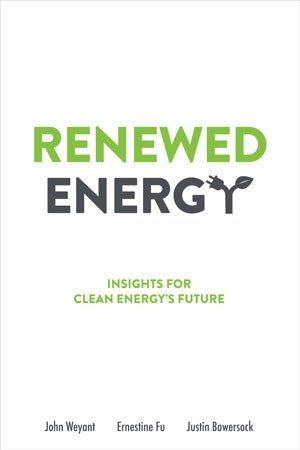 Bookcover for Renewed Engergy - Insights for Clean Energy's Future